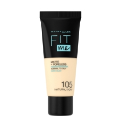 New York Fit Me Matte 105 tečni puder - photo ambalaze