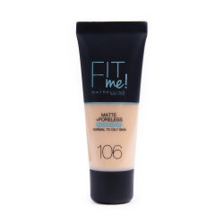 New York Fit Me Matte 106 tečni puder - photo ambalaze