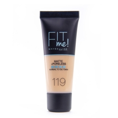 New York Fit Me Matte 119 tečni puder - photo ambalaze