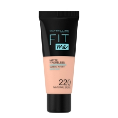 New York Fit Me Matte 220 tečni puder - photo ambalaze