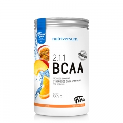 BCAA Flow 2:1:1 Orange 360g - photo ambalaze