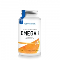 Omega 3 Fish Oil 90 kapsula - photo ambalaze