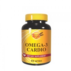 Omega 3 Cardio 60 kapsula - photo ambalaze