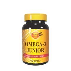 Omega 3 Junior 60 kapsula - photo ambalaze