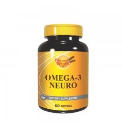 Omega 3 Neuro 60 kapsula - photo ambalaze