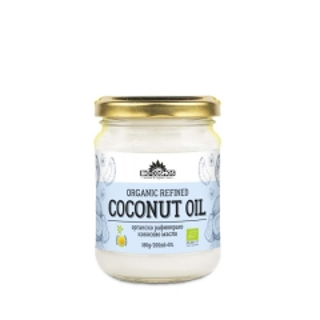 Organsko kokosovo ulje 180g - photo ambalaze