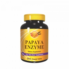 Papaya Enzyme 250 tableta - photo ambalaze