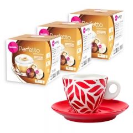 Perfetto Cappuccino 30 Dolce Gusto kompatibilnih kapsula 3-pack - photo ambalaze