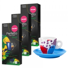 Perfetto single origin espresso Brazil 30 Nespresso kompatibilnih kapsula - photo ambalaze