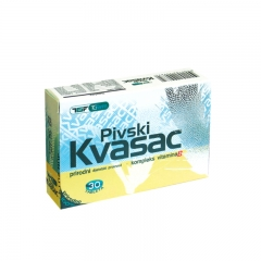 Pivski Kvasac 30 tableta - photo ambalaze