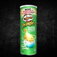 Čips Sour Cream&Onion 165g - photo ambalaze