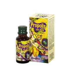 Propolis kapi za decu sa vitaminom C 20ml - photo ambalaze