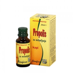 Propolis kapi za mršavljenje 20ml - photo ambalaze