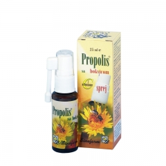 Propolis sprej sa bokvicom 25ml - photo ambalaze