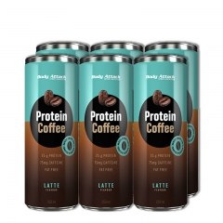 Protein Coffe 6-pack - photo ambalaze