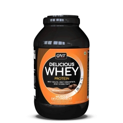 Delicious Whey Protein čokolada 2,2kg - photo ambalaze