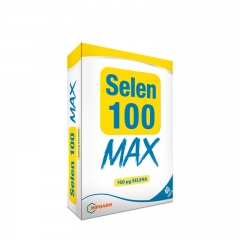 Selen 100 Max 40 tableta - photo ambalaze