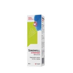 Sinowill Hypertonic sprej 50ml - photo ambalaze