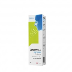 Sinowill Isotonic sprej 50ml - photo ambalaze