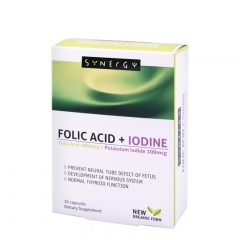 Folic Acid + Jod 30 tableta - photo ambalaze