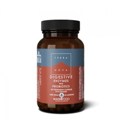 Digestiv Enzymes with Probiotics Complex 50 kapsula - photo ambalaze
