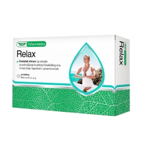 Tg-Relax 30 tableta - photo ambalaze