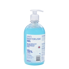 Antibakterijski gel 500ml - photo ambalaze