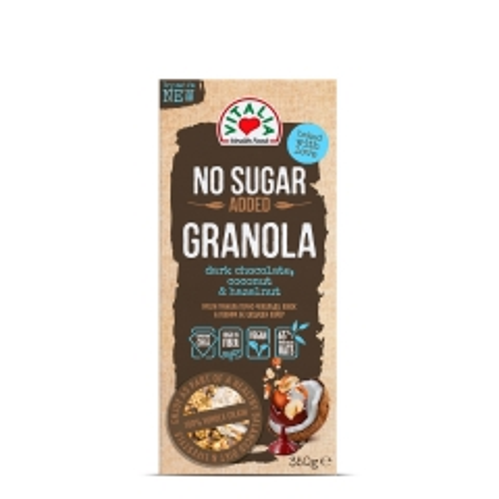 Granola musli kokos lešnik čokolada 350g - photo ambalaze