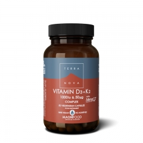 Vitamin D3+K2 Complex 1000IU 50 kapsula - photo ambalaze