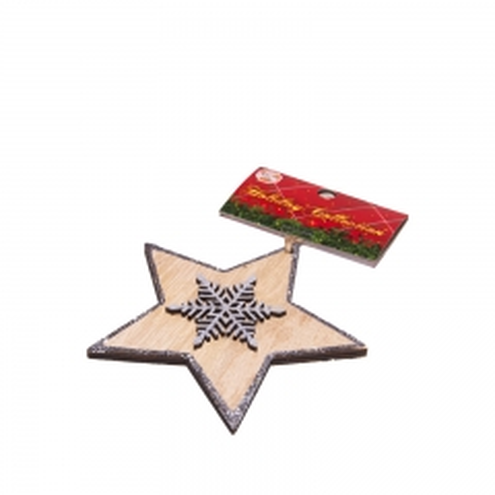Novogodišnji ukras zvezda - photo ambalaze